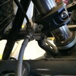 brake line mounted front