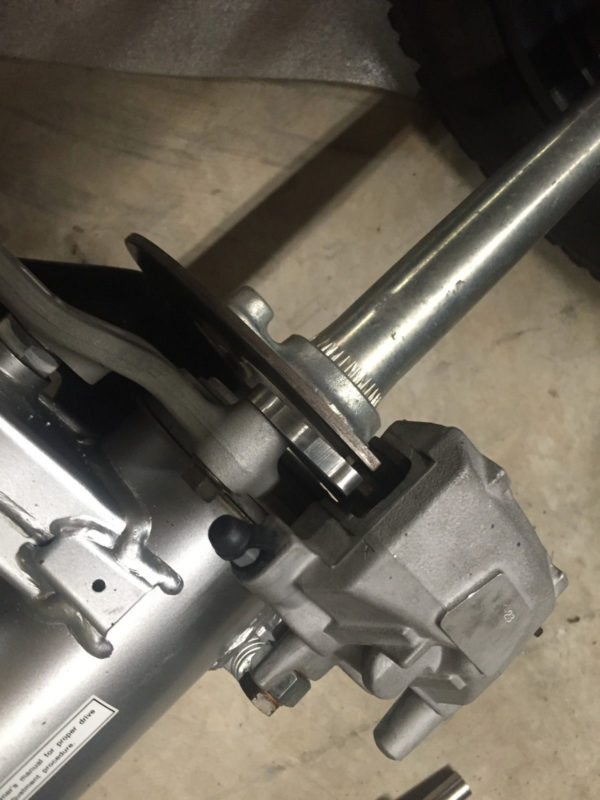 ltr450 billet conversion bracket