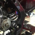 Carbon Fiber Frame Guards